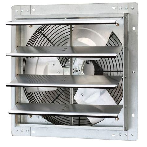variable speed bathroom exhaust fan iliving 1280 cfm power 16 in variable speed shutter