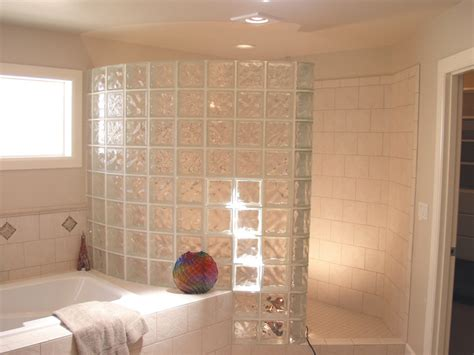 glass block bathroom designs 2018 seattle glass block shower showers in plans 16 skintoday info