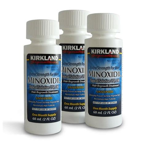 Grosir Kirkland Minoxidil 5 6 Months Isi 6 Botol Exp 2018 Ready 3 kirkland minoxidil 5 strength hair regrowth solution 3 month supply ebay