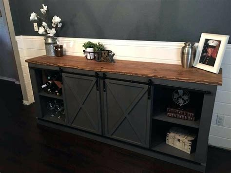 sliding door console console table black cabinet