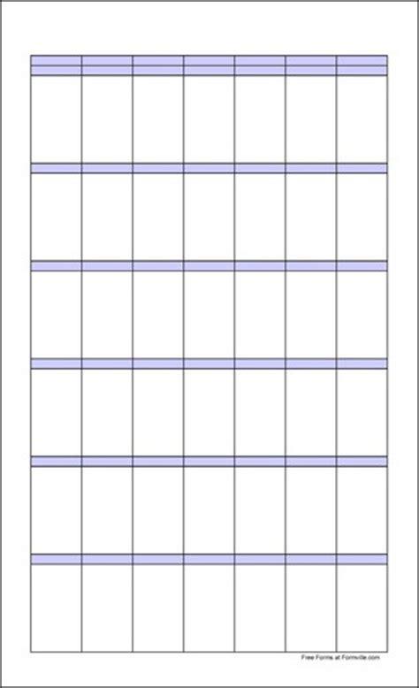 free large blank landscape calendar from formville free large blank portrait calendar from formville