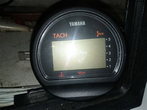 yamaha tach problem the hull boating and fishing