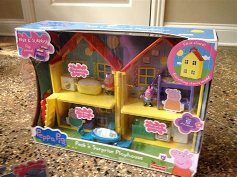 toys r us peppa pig house peppa pig fun toys show review