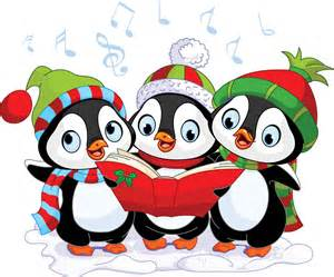 christmas penguin singing christmas song