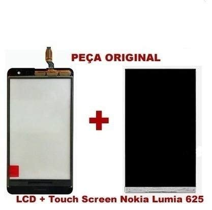 Touchscreen Nokia Lumia 625 2 modulo display lcd touch screen nokia lumia 625 original r 139 90 em mercado livre
