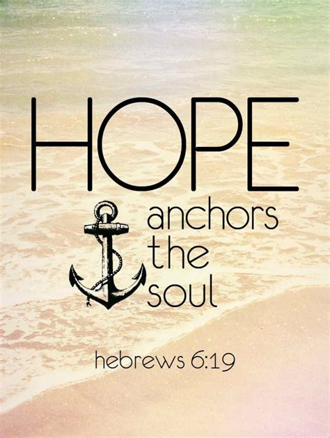 hope anchors the soul tattoo hebrews 6 19 maybe a small anchor quote s