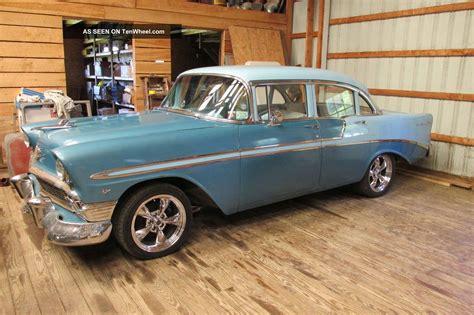 55 Chevy 4 Door by 1956 Chevy Bel Air 454 V8 4 Door Sedan Rock Solid 55