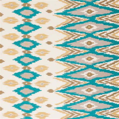 Kilim Upholstery Fabric by Turquoise Kilim Upholstery Fabric Brown Blue Embroidered