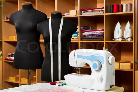 design clothes sewing fashion designer studio with dressmakers professional