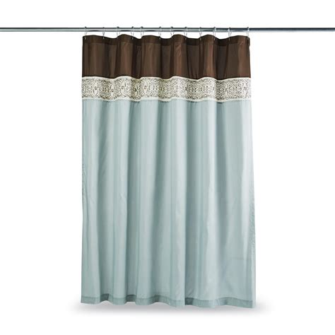 sears shower curtain essential home shower curtain corsica