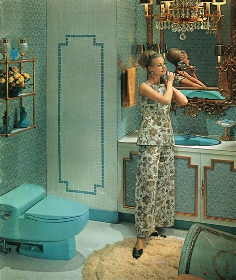 1960s Bathroom by The Evolution Of Colored Bathroom Fixtures House House