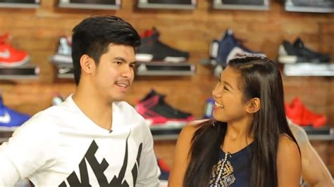 pictures of allysa valdez and his boyfriend kiefer ravena kiefer ravena and alyssa valdez fight in the battle of