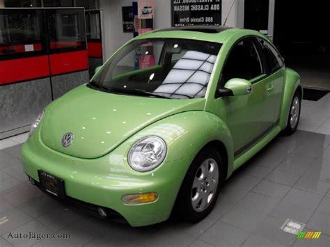 green volkswagen beetle 2003 volkswagen new beetle gls coupe in cyber green