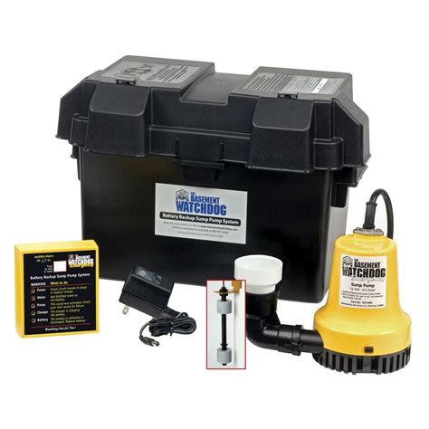 basement watchdog emergency battery from home depot things i