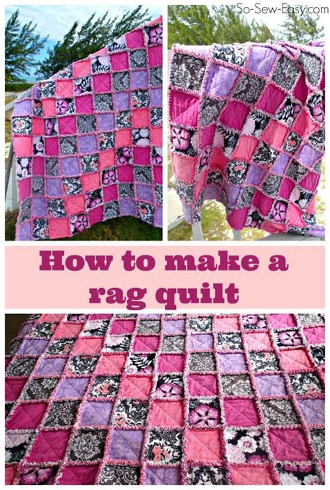 quilting tutorial step by step how to make a rag quilt videos rag quilt tutorials and