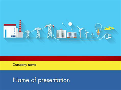 templates powerpoint electricity mains electricity powerpoint template backgrounds 12202