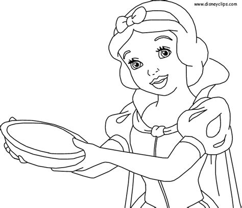 Snow White Coloring Pages Disney Princess Photo Princess Snow White Coloring Pages Free Coloring Sheets