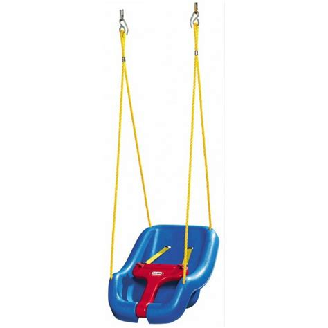 little tykes swing seat buy little tikes 2 in1 snug n secure swing seat blue