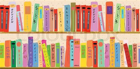 book shelf banner stock vector colourbox