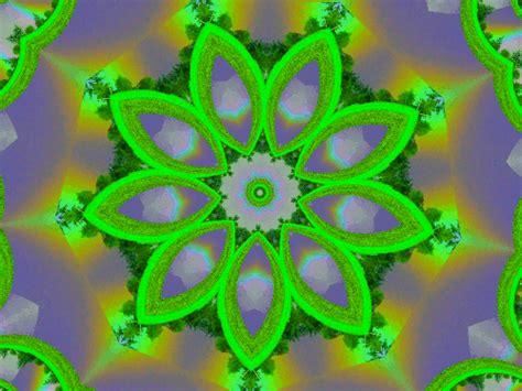 green kaleidoscope wallpaper green rainbow kaleidoscope by aim4beauty on deviantart