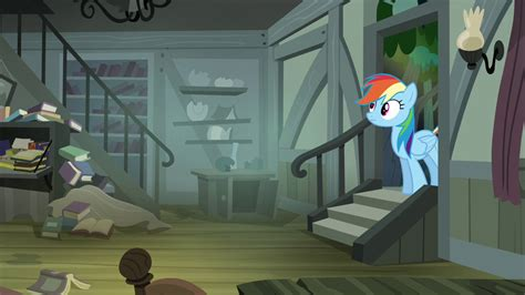 rainbow dash s house image rainbow dash walking into daring s house s4e04 png my little pony friendship