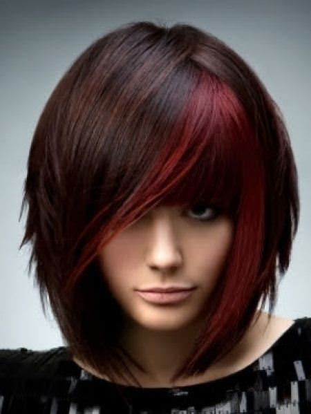 edgy a line hairstyles 20 funky hairstyles for medium length hair