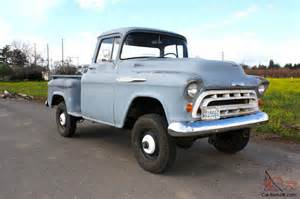 Chevrolet Chevy 4x4 Sale 1957 Chevy 4x4 Napco For Sale Autos Post