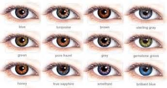 different types of eye colors real eye color chart labels contact lenses colors