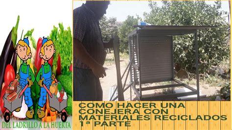 como hacer una conejera como hacer una conejera con materiales reciclados 1 170