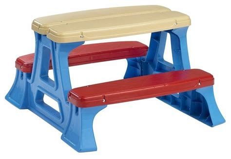 Haenim Play N Picnic Table picnic play plastic table indoor outdoor activities