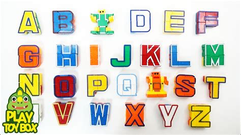 Robo S H F By Greenland Toys learning alphabet abc atoz for with