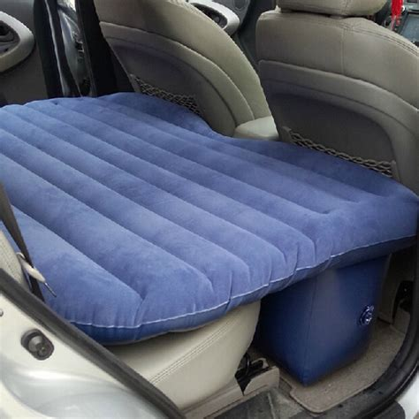 car inflatable bed buy car inflatable mattress outdoor travel car air bed with pump pillow