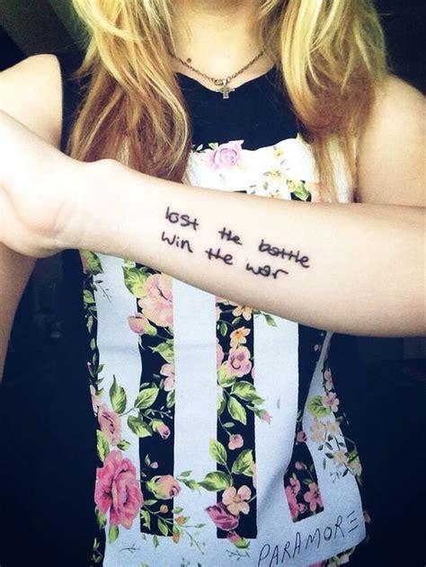 paramore tattoo lyrics paramore future tattoos pinterest paramore lyrics