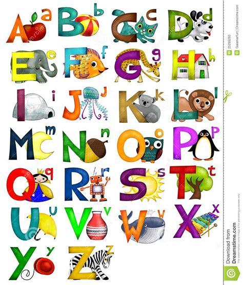 letters a z alphabet stock photo image 25299260 1106