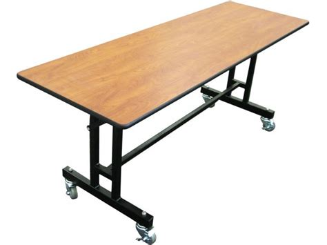 ez tilt mobile folding cafeteria table 30 quot x60 quot cafeteria