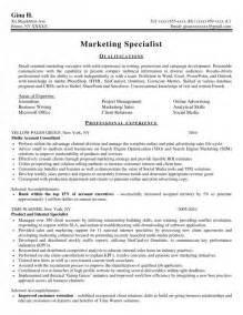 Advertising Consultant Sle Resume by Sles New York Resume Writing Service Resumenewyork