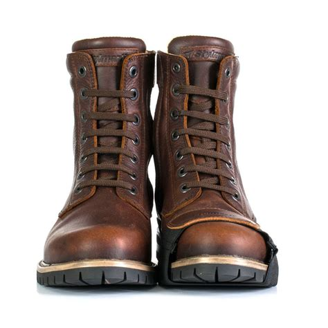 cool motorcycle boots stylmartin ace motorcycle boots