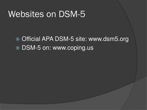 dsm 5 section 3 ppt using dsm 5 for dual diagnosis assessment