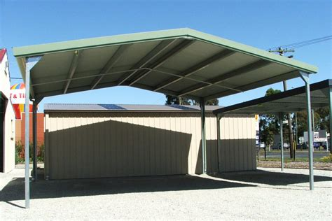 Attached Carport Pictures by Carports Sheds And Garages For Sale Ranbuild