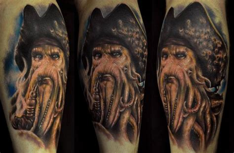 arm fantasy portrait tattoo by venom ink