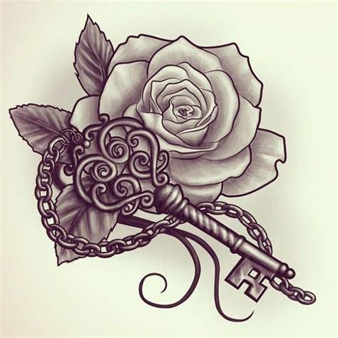 rose chain tattoo 25 designs