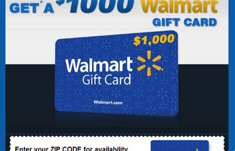 1000 Dollar Gift Card Walmart - winning this 1000 gift card will cost you time money truth in advertising