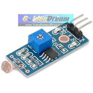 Colokan Lobang 3 Cahaya jual sensor pendeteksi cahaya sinar dengan photoresister module golden