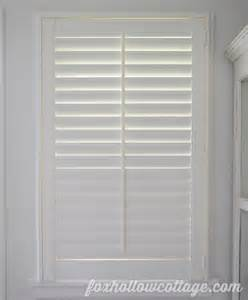 blinds to go plantation shutters easy diy plantation shutter installation fox hollow cottage