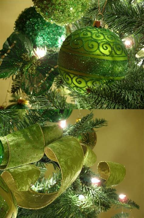 apple green christmas decorations green christmas decorations green christmas tree green xmas