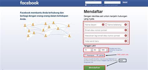 cara membuat akun facebook privasi cara membuat akun facebook aman cara mudah mendaftar facebook