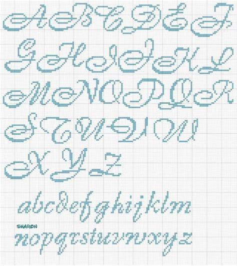 lettere ricamo punto croce punto croce passione alfabeto h 22