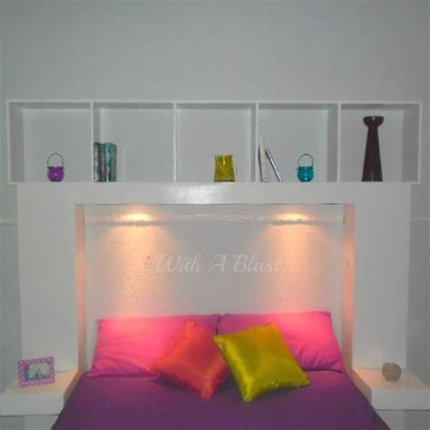 Headboards With Built In Lights by Diy Headboard With Built In Lights