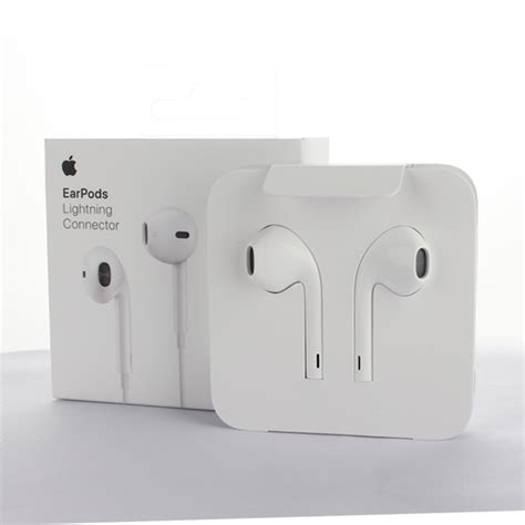 Earphone Iphone Asli apple asli earpods with lightning connector iphone 7 ios