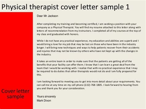 resume cover letter physical therapist resume ixiplay